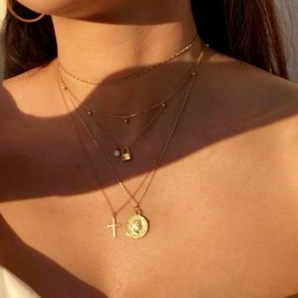 4be77b9c1665e New Dainty Jewelry Necklace Gold Simple Statement Boutique